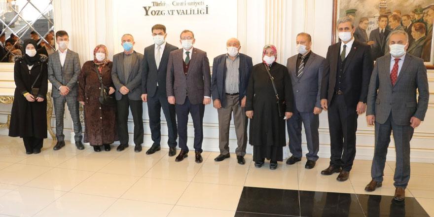 Yozgat'ta şehit yakınları ve gazilere devlet övünç madalyası verildi