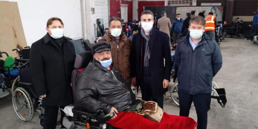 Yozgatlılar Konfederasyonu engelli vatandaşları sevindirdi