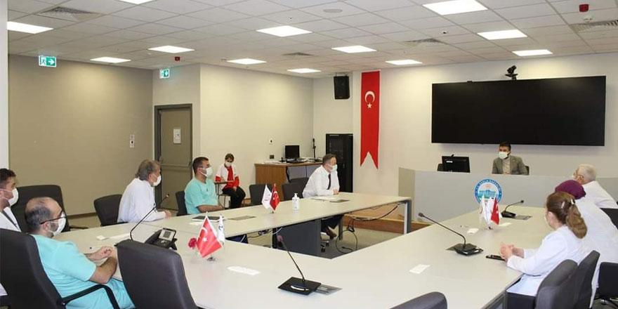 Yozgat'ta pandemi kurulu toplantısı yapıldı