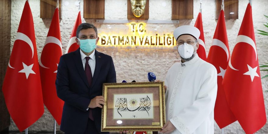 Berat Gecesi Özel Programı Batman'da yapılacak! Diyanet İşleri Başkanı Erbaş Batman'a gitti