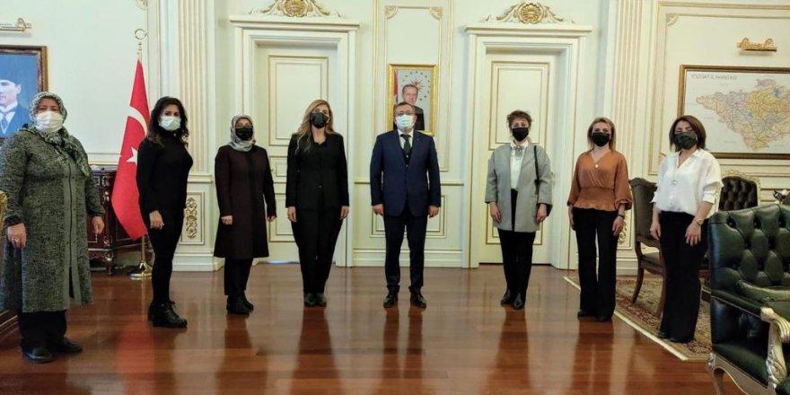 Anadolu Kadınları Dayanışma Derneği'nden Yozgat Valisi Ziya Polat'a ziyaret
