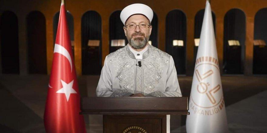 Diyanet İşleri Başkanı Erbaş'tan Berat Gecesi Mesajı
