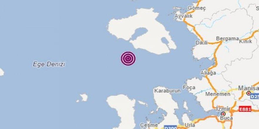 Afet ve Acil Durum Yönetimi Başkanlığı İzmir'de deprem olduğunu duyurdu