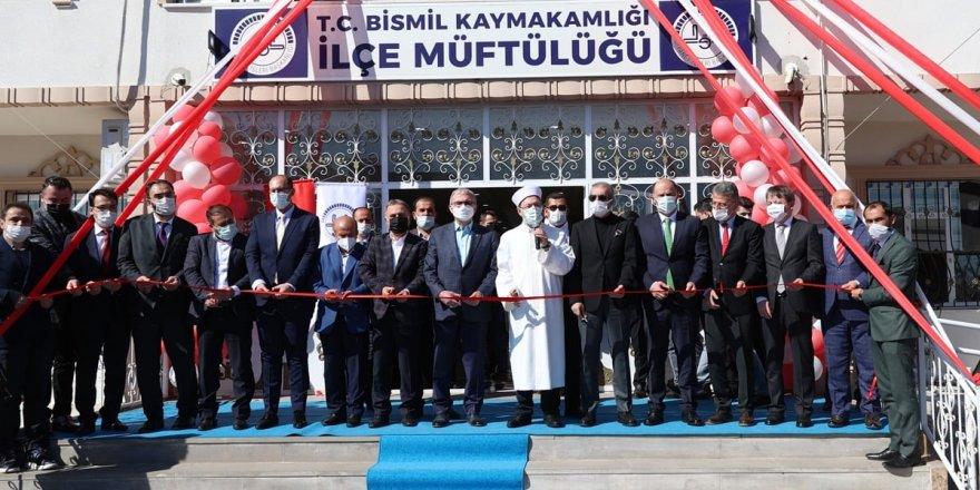 Diyanet İşleri Başkanı Erbaş, Bismil İlçe Müftülüğünün açılışını yaptı