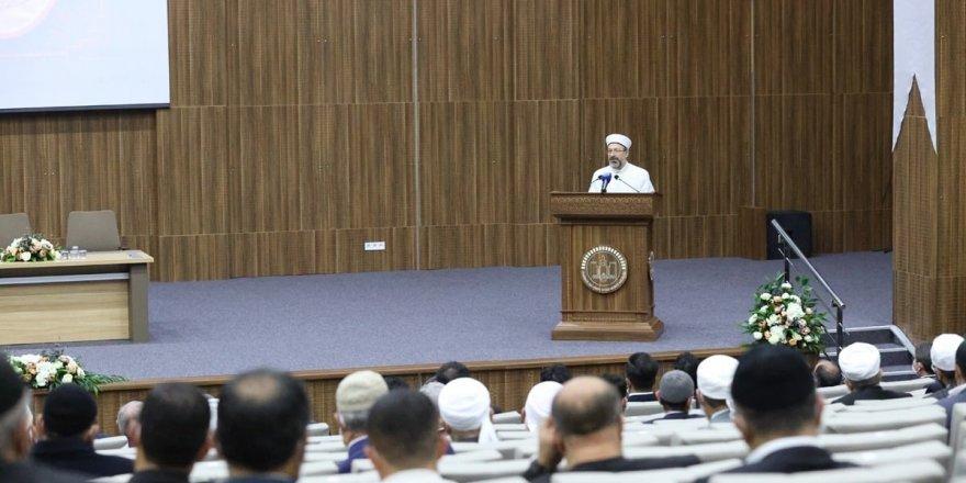 Diyanet İşleri Başkanı Prof. Dr. Ali Erbaş Diyarbakır'da