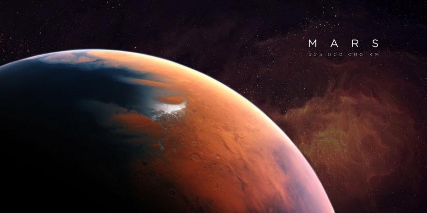 NASA, Mars'taki kum tepelerinin görsellerini paylaştı