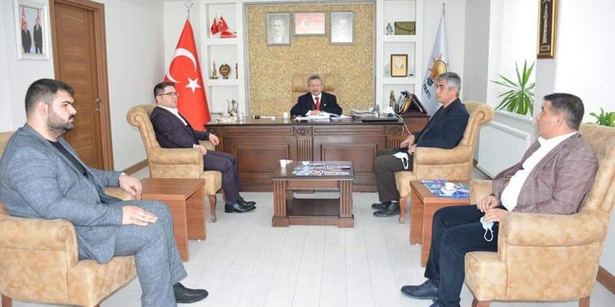 Yerköy Ak Parti İlçe Başkanı Dereli'den Yozgat Ak Parti İl Başkanı Başer'e ziyaret