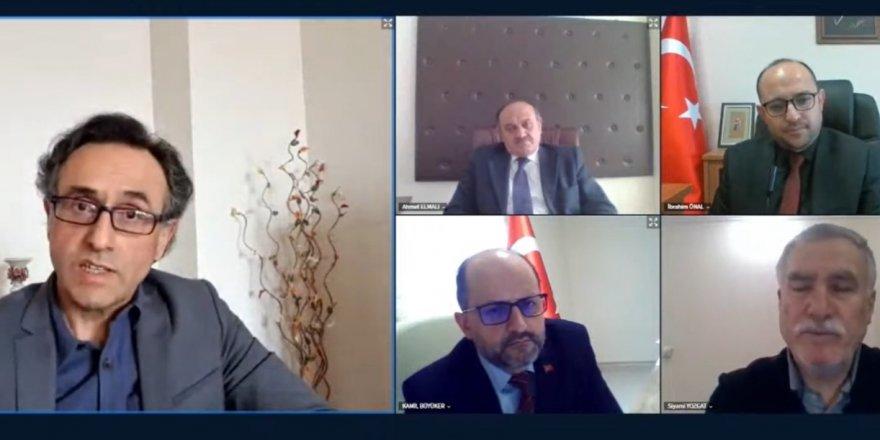 Yozgat Bozok Üniversitesi'nde çevrimiçi panel