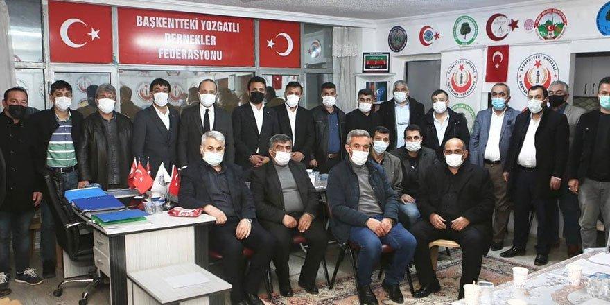 Yozgatlı Dernekler Federasyonu Başkanı Mesut Kaya yeniden seçildi