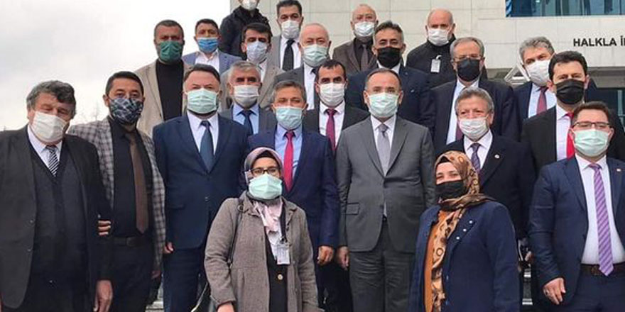 Bekir Bozdağ'a Yozgat teşkilatından hayırlı olsun ziyareti