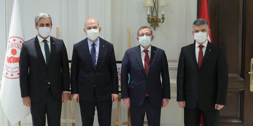 Türkiye'nin kalbinden İçişleri Bakanı Süleyman Soylu'ya selam