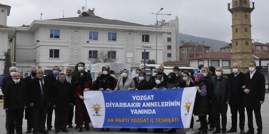 Ak Parti Yozgat İl Başkanlığı Diyarbakır'a doğru yola çıktı