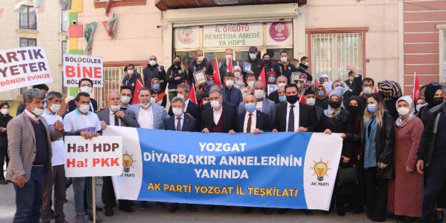 Yozgat Diyarbakır Annelerinin yanında