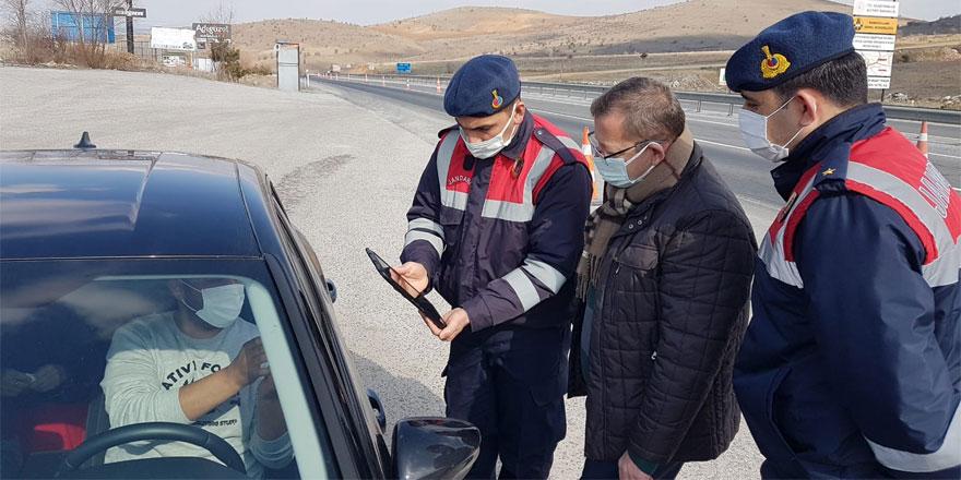 Yozgat'ta Jandarma ve Polis ekipleri kuş uçurtmuyor!