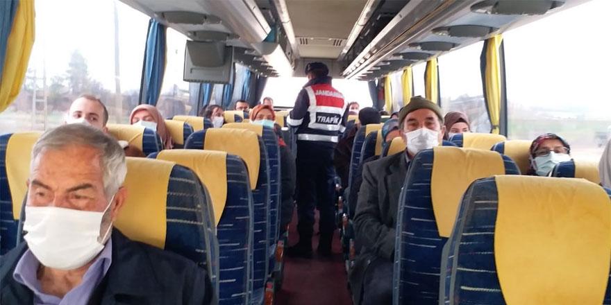 Yozgat'ta Jandarma teyakkuzda! Tek tek kontrol ediliyor