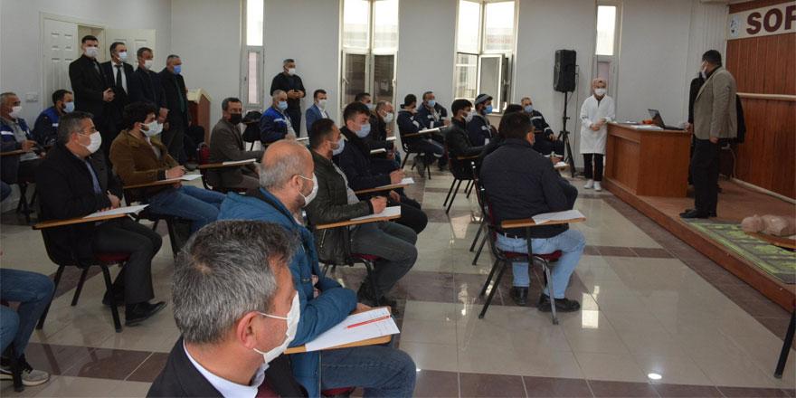 Sorgun Belediyesi personeline ilk yardım eğitimi