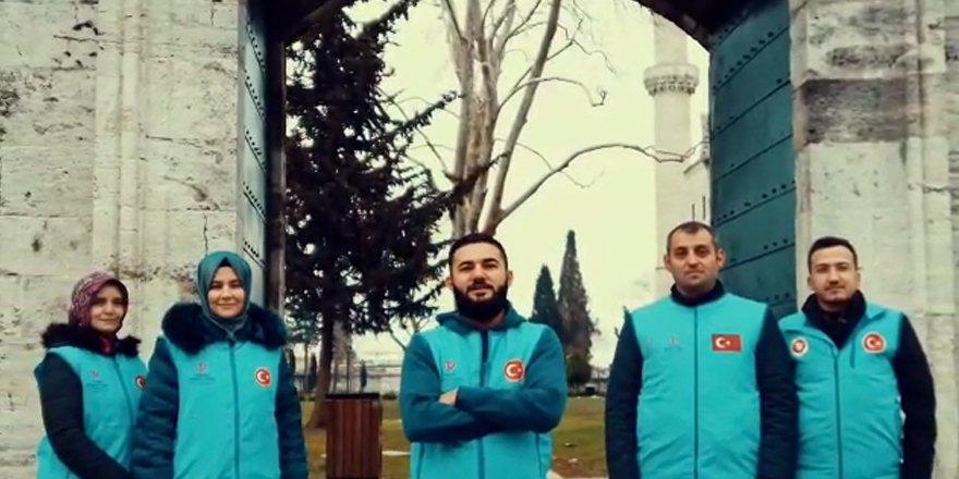 Türkiye Diyanet Vakfı'ndan 2021 yılı Ramazan ayına özel rap müzikli tanıtım filmi