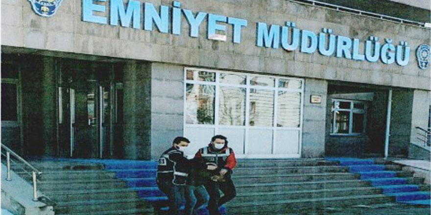 Yozgat İl Emniyet Müdürlüğü tespit edip yakaladı
