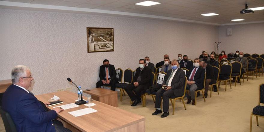Yozgat İl Milli Eğitim Müdürü Yazıcı, başkanlığında değerlendirme toplantısı yapıldı