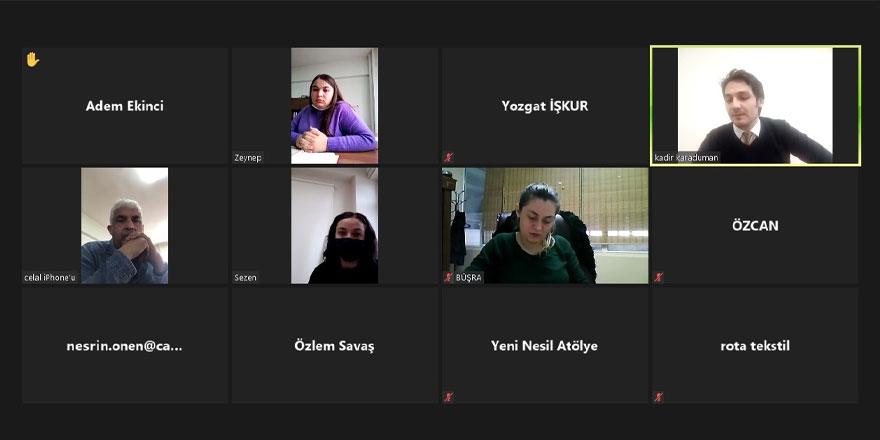 İŞKUR'dan Yozgat'ta çevirimiçi insan kaynakları platformu etkinliği