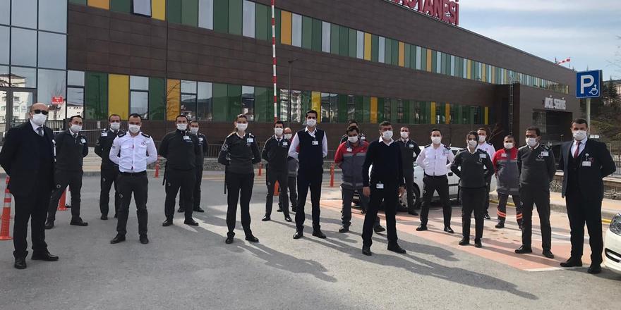 Onlar Yozgat Şehir Hastanesi'nin gizli kahramanları