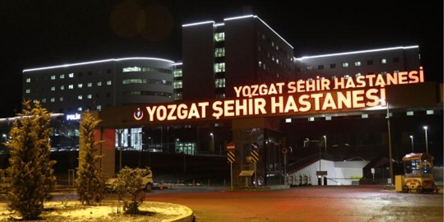 İşte Yozgat Şehir Hastanesi'nde tedavi olan hasta sayısı
