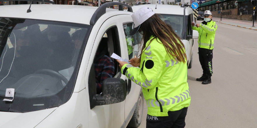 Yozgat'ta polis ekiplerinden sıkı denetim