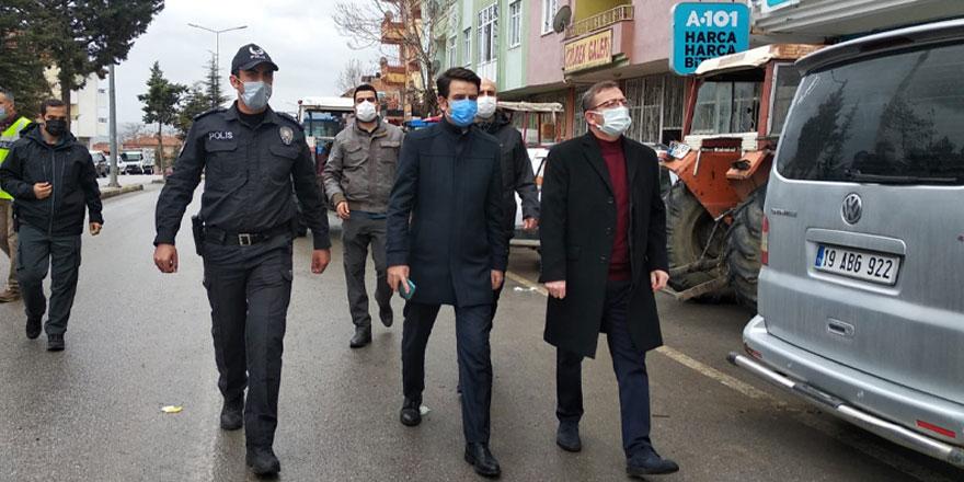 Vali Polat ilçe ilçe ziyaretlerine devam ediyor
