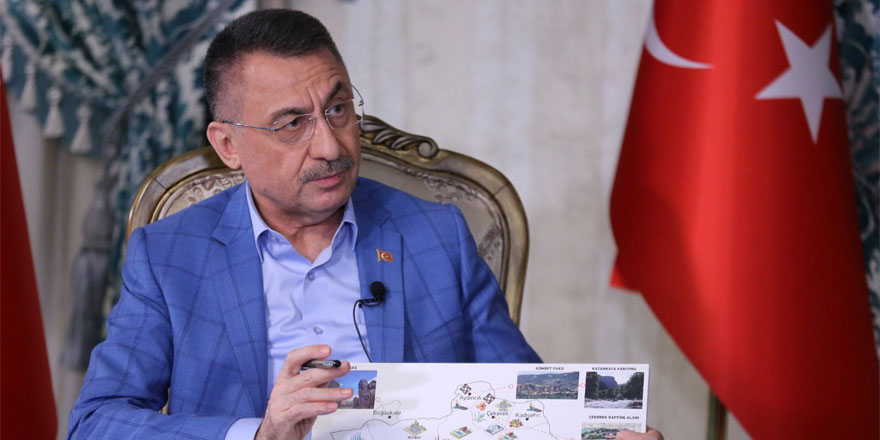 Cumhurbaşkanı Yardımcısı Fuat Oktay Yozgatlıların mesajını aldı
