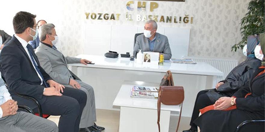 Yozgat'ta Ak Parti'den CHP'ye ziyaret