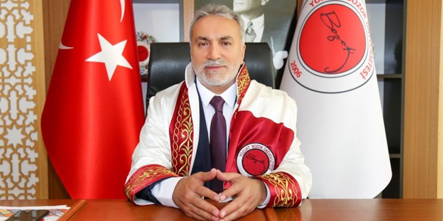 Bozok Üniversitesi Rektörü Karadağ'dan 23 Nisan mesajı
