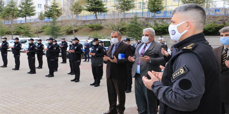 Yozgat İl Emniyet Müdürlüğünden kurbanlı tören