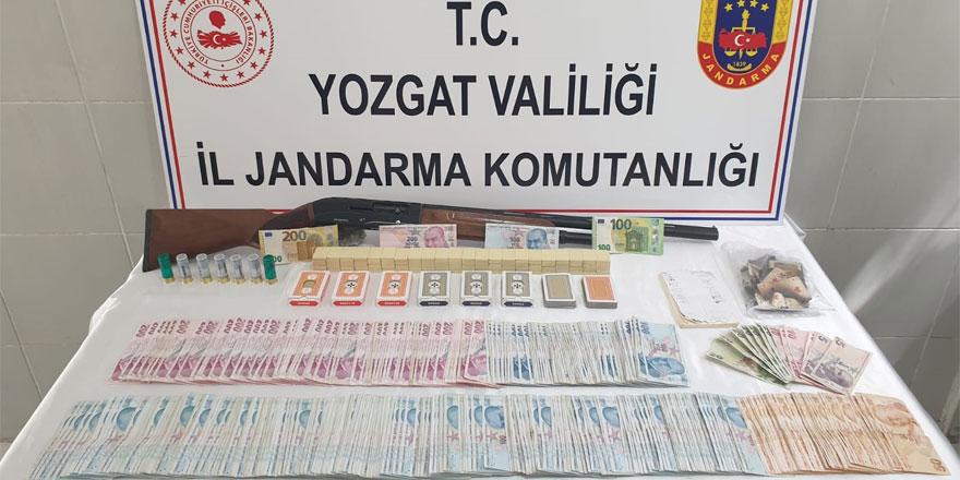 Yozgat'ta bağ evini kumarhaneye çevirmişler