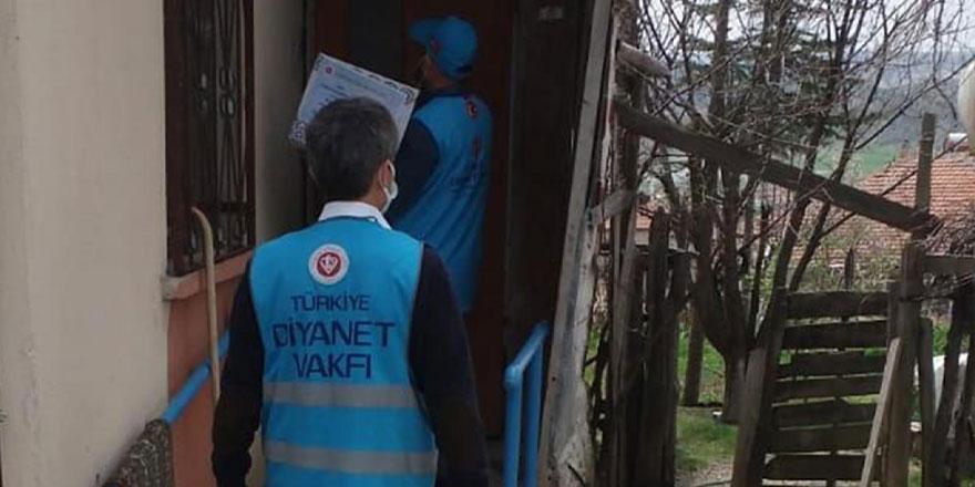 Türkiye Diyanet Vakfı Yozgatlı ihtiyaç sahibi aileleri sevindirdi