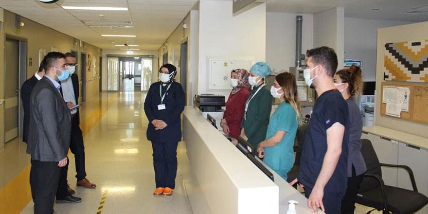 Yozgat Şehir Hastanesi Başhekimi Kozan'dan teşekkür