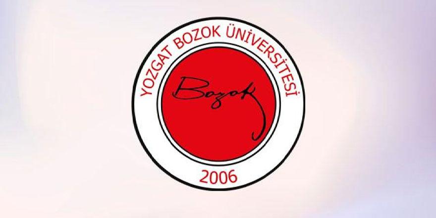 Bozok Üniversitesi'nden önemli bir başarı