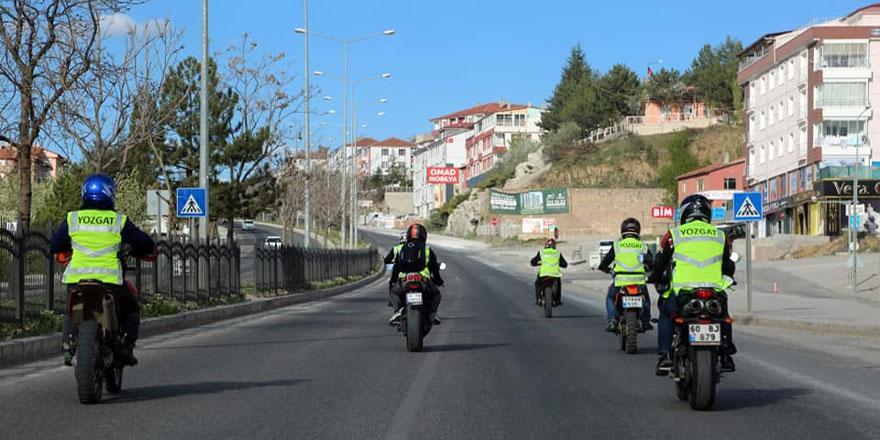 Yozgat'ta onların ihtiyaçlarını motorize ekipler karşılıyor