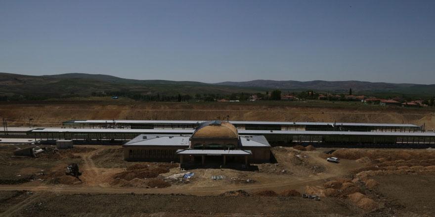 Yozgat YHT gar inşaatı çalışmaları devam ediyor